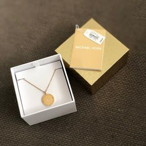 Michael Kors gold necklace
